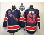 nhl new york rangers #61 nash dk.blue [85th][2014 stanley cup]