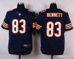 nike chicago bears #83 bennett blue elite jerseys