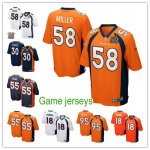 Football Denver Broncos All Players Option Stitched Game Jersey