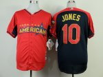 mlb baltimore orioles #10 jones red-blue [2014 all star jerseys]