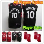 Basketball Toronto Raptors All Players Option Authentic Jersey Player Style