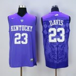 nike kentucky wildcats #23 davis blue jerseys