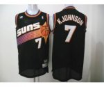 nba phoenix suns #7 k johnson black jerseys