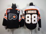 nhl philadelphia flyers #88 lindros black [patch C][m&n]