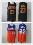 Basketball Cleveland Cavaliers #23 LeBron James Swingman Concept Version Jersey