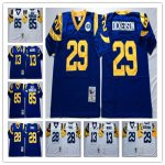 Football Mens Los Angeles Rams Mitchell & Ness Retired Player Throwback Jersey