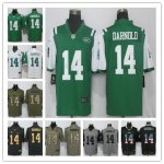 Football New York Jets #14 Sam Darnold 2018 Draft First Round Pick Jersey