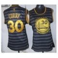 women nba golden state warriors #30 stephen curry grey black groove stitched jerseys