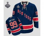 nhl new york rangers #99 gretzky dk.blue [85th][2014 stanley cup