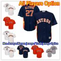 Baseball Houston Astros All Players Option stitched Cool Base Jersey