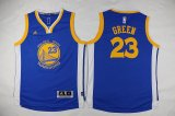 youth nba golden state warriors #23 draymond green blue swingman jerseys