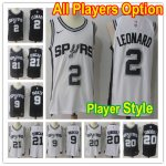 Basketball San Antonio Spurs All Players Option Authentic Icon Edition Jersey- Player Style