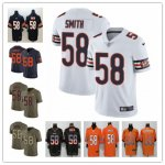 Football Chicago Bears #58 Roquan Smith Jersey