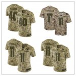 Football Arizona Cardinals Stitched Camo Salute to Service Limited Jersey
