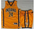 nba indiana pacers #24 george yellow [revolution 30 swingman Sui