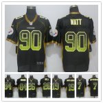 Football Pittsburgh Steelers All Players Option Elite Black Drift Fashion Jersey