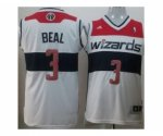 nba washington wizards #3 beal white [revolution 30 swingman]