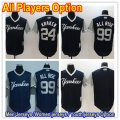 Baseball New York Yankees All Players Option Navy Blue 2017 Players Weekend Jersey