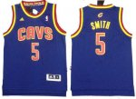nba cleveland cavaliers #5 smith blue [revolution 30]