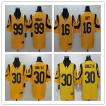 Football Los Angeles Rams Gold Vapor Untouchable Color Rush Limited Jersey