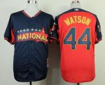 mlb pittsburgh pirates #44 watson blue-red [2014 all star jersey