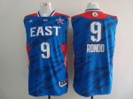 2013 all star boston celtics #9 rondo blue jerseys