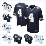 Football Dallas Cowboys Stitched Game Jerseys