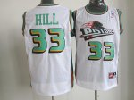 nike nba detroit pistons #33 hill white jerseys