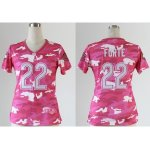 nike women nfl chicago bears #22 matt forte pink [fashion camo]