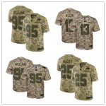 Football Buffalo Bills Stitched Camo Salute to Service Limited Jersey