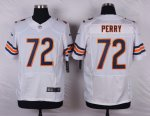 nike chicago bears #72 perry white elite jerseys