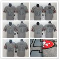Football San Francisco 49ers Gray 2019 Stitched Vapor Untouchable Limited Jersey