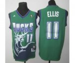 nba milwaukee bucks #11 ellis green [2013 new revolution 30 swin