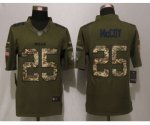 nike buffalo bills #25 mccoy army green salute to service limite