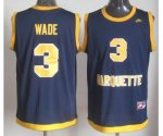 nba miami heat #3 dwyane wade blue jerseys [nike]