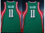 nba milwaukee bucks #11 ellis green [revolution 30 swingman]