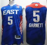 2013 all star boston celtics #5 garnett blue jerseys