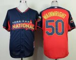 mlb st.louis cardinals #50 wainwright blue-red [2014 all star je
