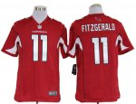 nike nfl arizona cardinals #11 larry fitzgerald red jerseys [gam