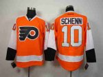nhl philadelphia flyers #10 schenn orange jerseys