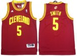 nba cleveland cavaliers #5 smith red [revolution 30]