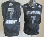 2013 nba all star new york knicks #7 anthony black jerseys
