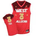 Los Angeles Clippers 3 Chris Paul All-Star 2012 Western red jers