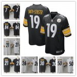 Nike NFL Pittsburgh Steelers Top players Stitched Game Jersey
