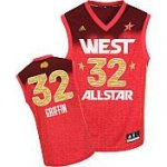 Los Angeles Clippers 32 Blake Griffin All-Star 2012 Western red