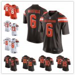 Football Cleveland Browns Stitched Game Jerseys