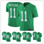 Nike NFL Philadelphia Eagles Top Players Color Green Rush Vapor Untouchable Limited Jersey