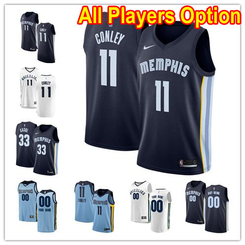 d6fa066e6b3 Basketball Memphis Grizzlies All Players Option Swingman Icon Edition Jersey